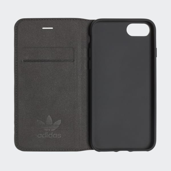 Basic Logo Booklet Case iPhone 8