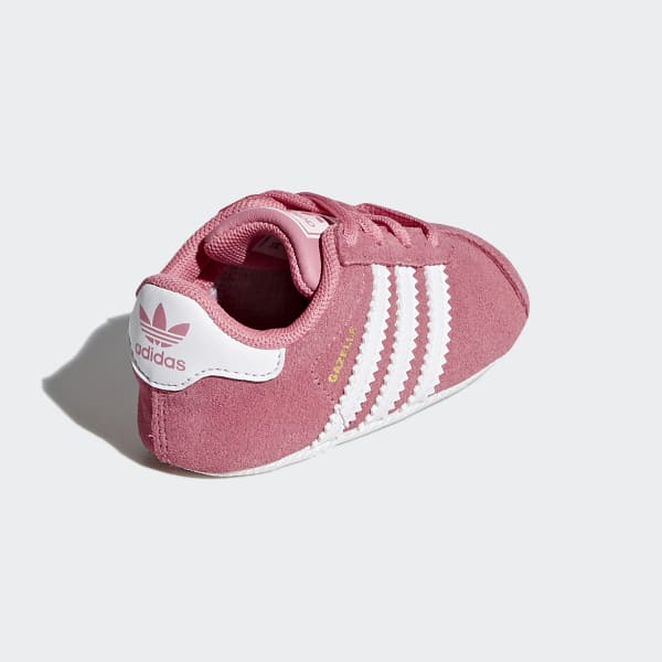 new arrival 0c698 2d3ad adidas Gazelle Crib Shoes - Pink   adidas Australia