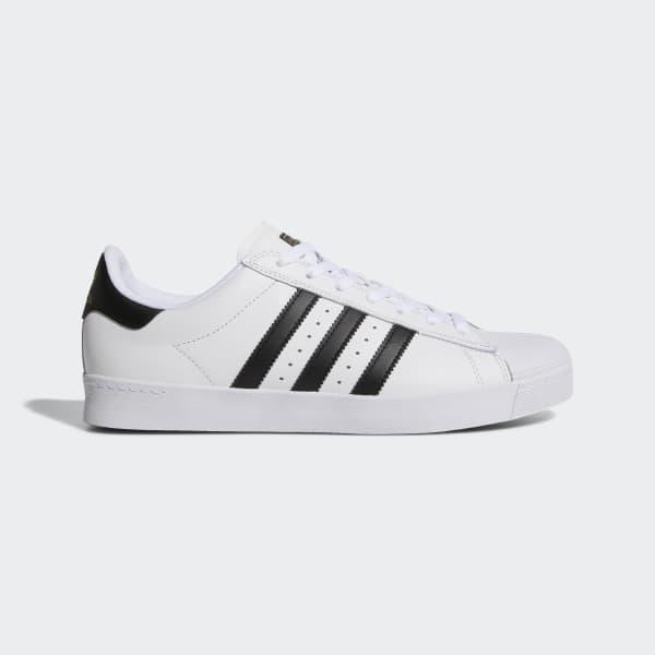 adidas Superstar Vulc Adv Skate Shoes Black White
