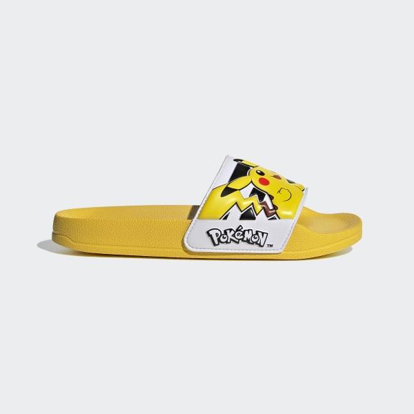 adidas Adilette Shower Slides - Yellow