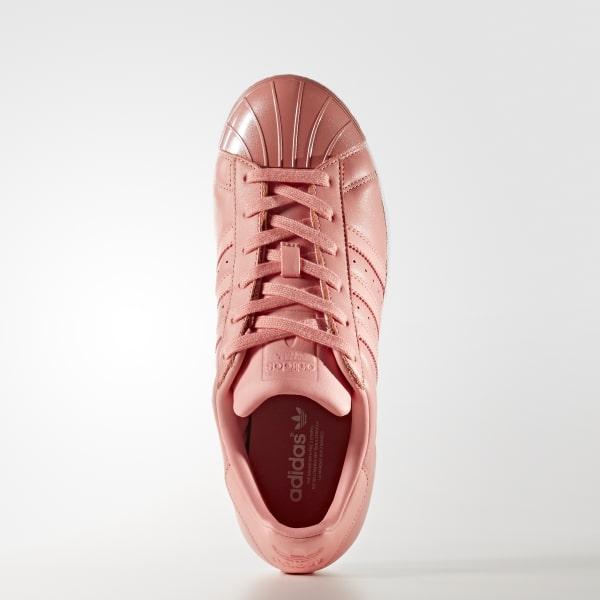 adidas Originals Pink Superstar 80S Sneakers With Metal Toe