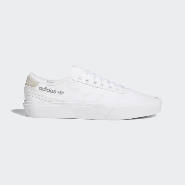 white adidas plimsolls