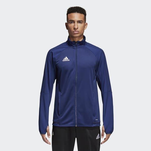 50eaf5c547cd adidas Tiro 17 Training Jacket - Blue