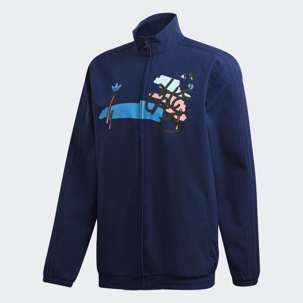 fd13a59437aac adidas Hélas Jacket - Blue