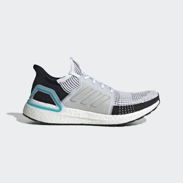 Abreviar siglo Siempre  Men's Ultraboost 19 Cloud White and Black Shoes | adidas US