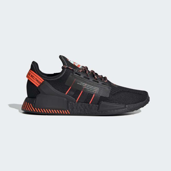 Nmd R1 V2 Black And Red Shoes Adidas Us