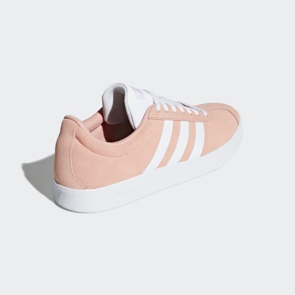 adidas vl court 2.0 barn rosa