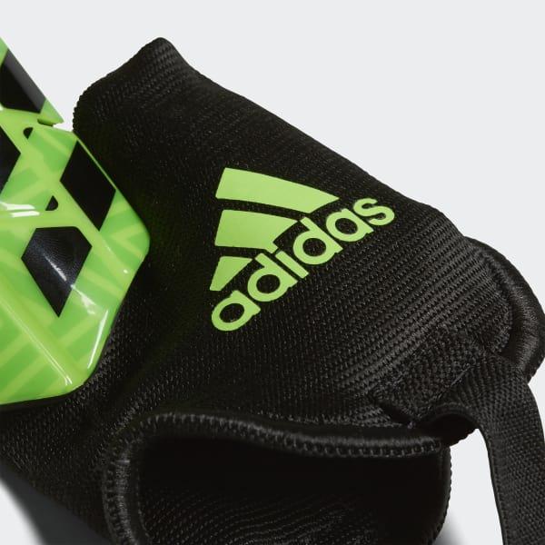 c09dd3e35 adidas Messi 10 Shin Guards - Green