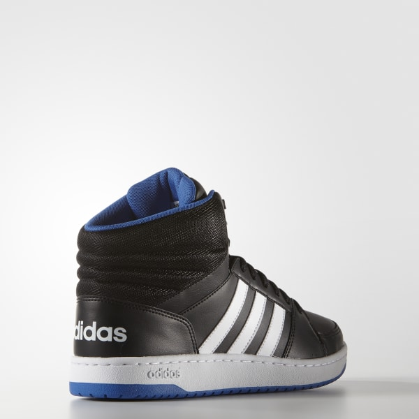 adidas NEOAdidas Men adidas Neo Hoops VS Mid ShoesCore Black / Ftwr White / Blue