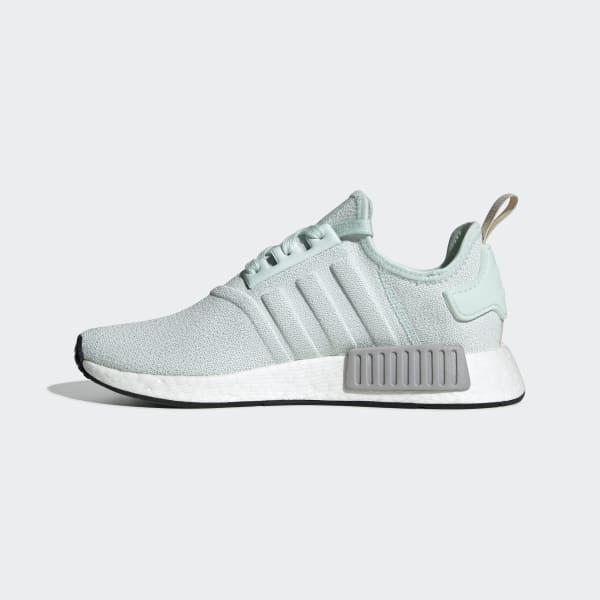 Sapatos Casual Adidas Originals NMD R1 Primeknit VerdeVerde