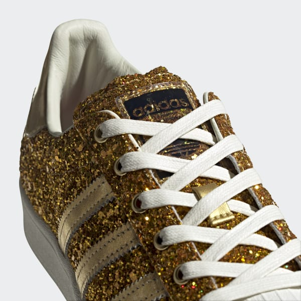 adidas glitter tennis shoes