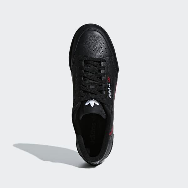Chaussures Continental 80 noires et rouges | adidas France