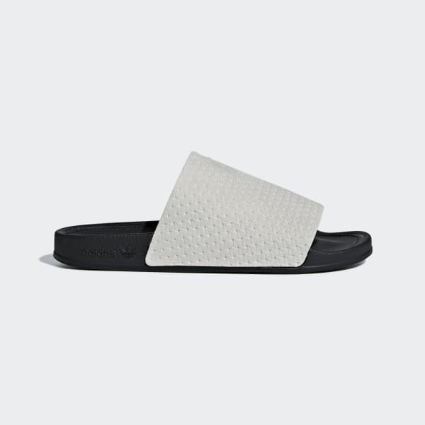 adidas Adilette Luxe Slides - Grey