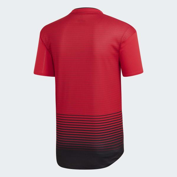 59324eace2492 adidas Jersey de Local Manchester United Oficial 2018 - Rojo ...