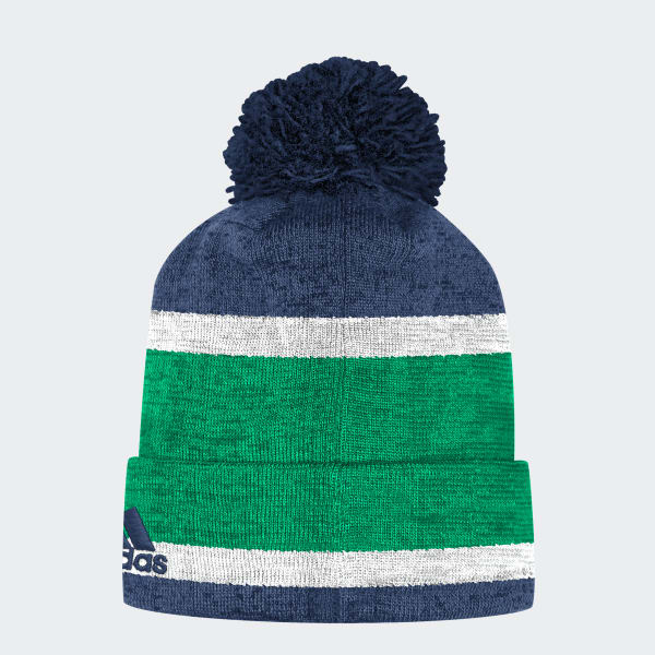Canucks Team Cuffed Pom Beanie