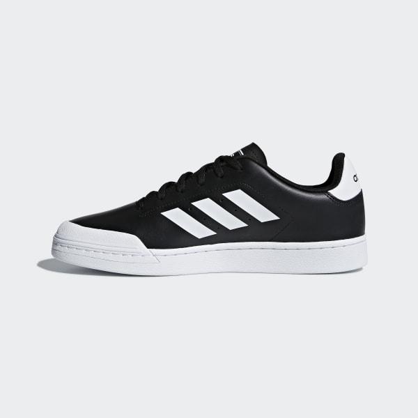 466974ac04dc8 adidas Court 70s Shoes - Black | adidas Australia