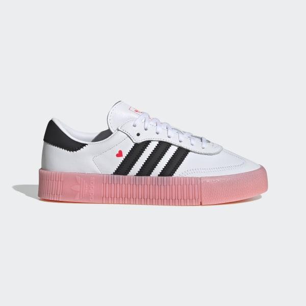 adidas samba rose - femme chaussures