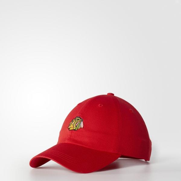 Blackhawks Dad Adjustable Slouch Cap