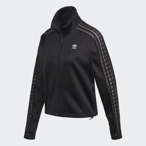 adidas Lace Track Jacket Black | adidas Deutschland
