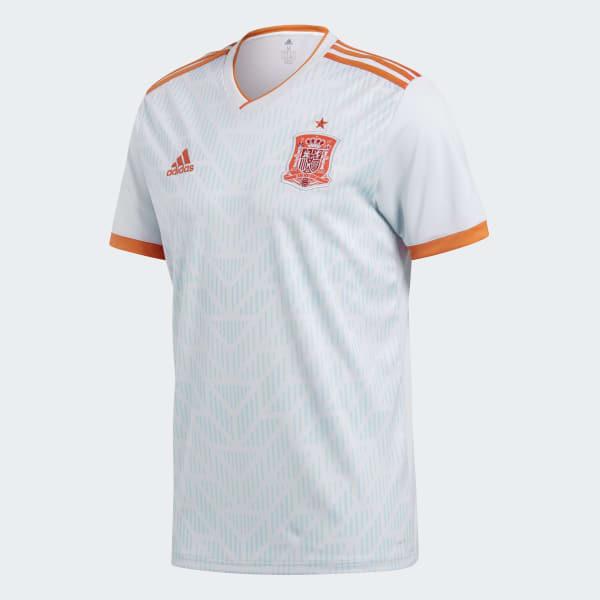 Camiseta Oficial Selección de España Visitante 2018 - Azul adidas ... ad9d7a35cf11f