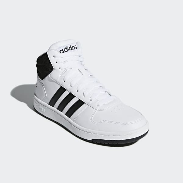 e68f54880996 adidas Hoops 2.0 Mid Shoes - White