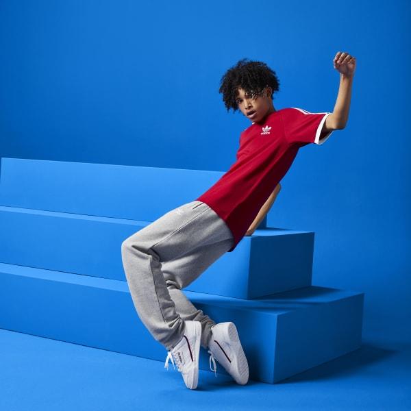e12c2e46d8 Calça Trefoil - Cinza adidas | adidas Brasil