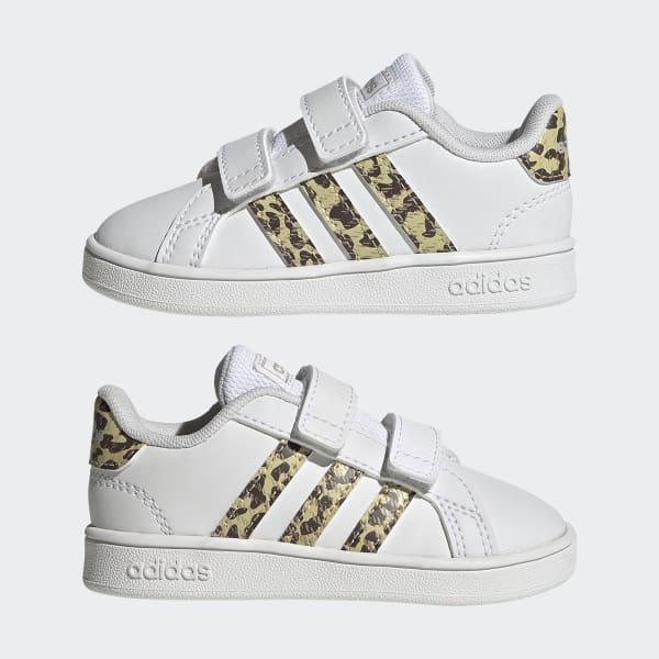 Chaussure Grand Court - Blanc adidas | adidas France