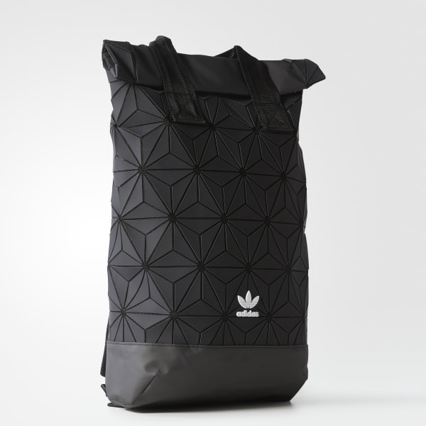 9f55c60de8 adidas 3D Roll Top Backpack - Black