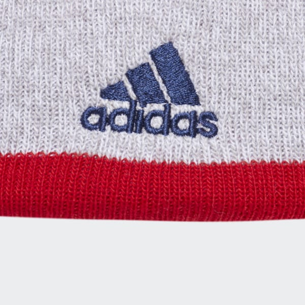 26238a929a8 adidas Capitals Team Cuffed Pom Beanie - Multicolor