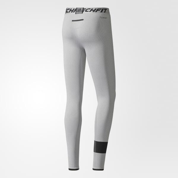adidas Mens Tech Fit Clima Heat Tights Sportswear Mens Sportswear COLOUR-black