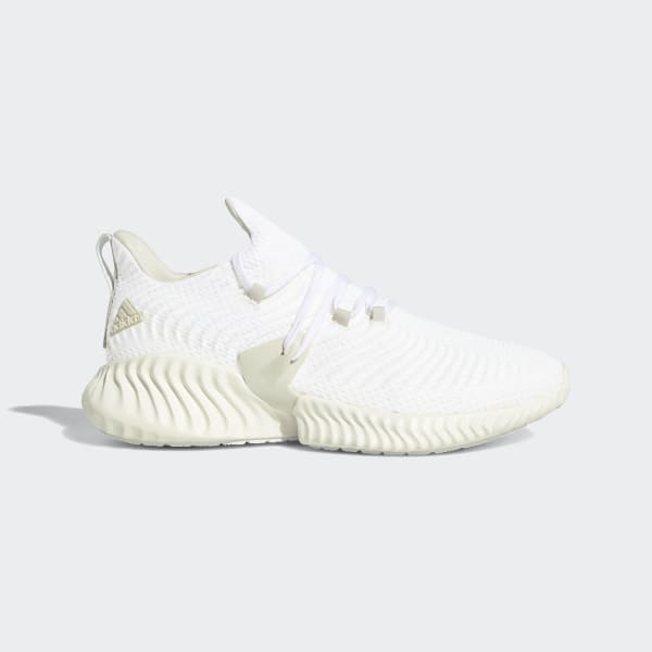 7be35678a362e Alphabounce Instinct Shoes Off White   Raw White   Running White BD7111