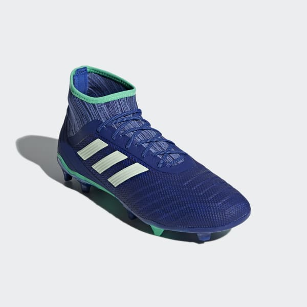 72388b44e21b adidas Predator 18.2 Firm Ground Boots - Blue