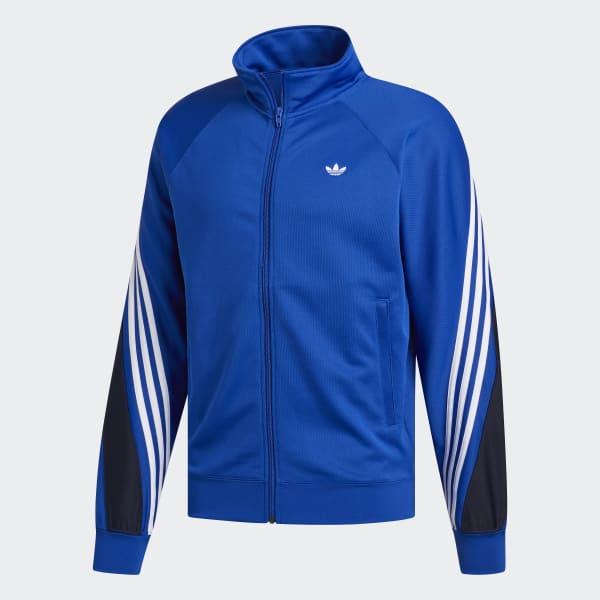 adidas 3 Streifen Wrap Originals Jacke Blau | adidas