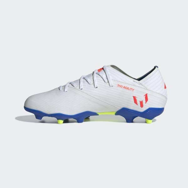 7913a7e9db9 adidas Botas de Futebol Nemeziz Messi 19.1 – Piso firme - Branco | adidas  MLT