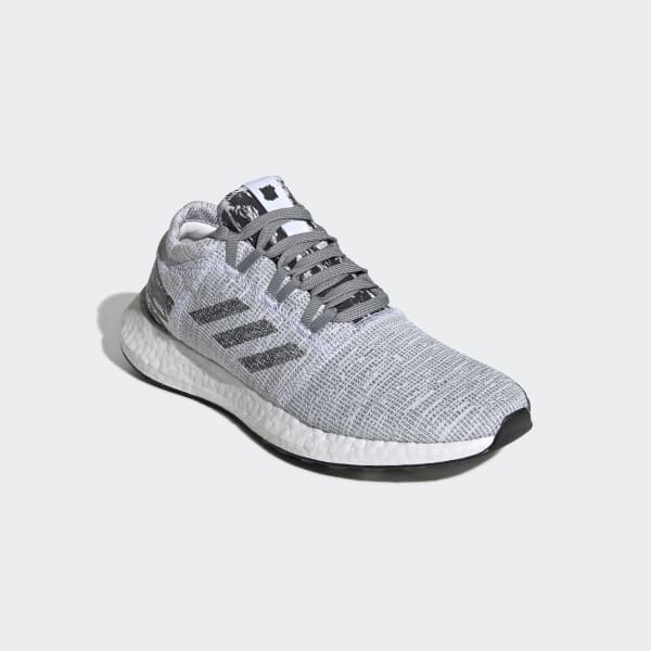 89be6ef4e7e75c adidas x UNDEFEATED Pureboost GO Shoes. Lace closure  3D knit textile and  nubuck upper  Rubber outsole. Responsive Boost midsole  Product colour  Core  Black ...