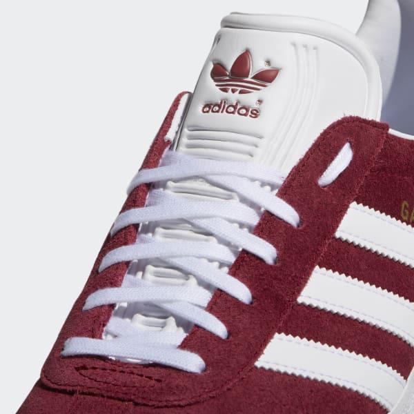 adidas Gazelle Shoes - Red  60482b1e0