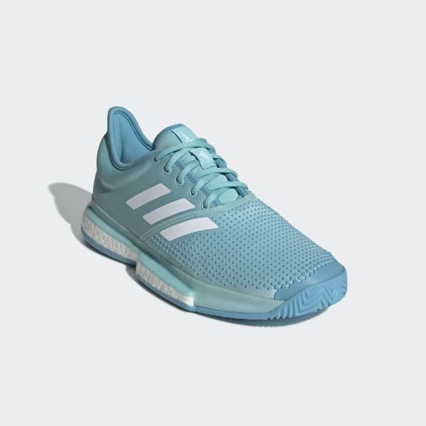 8ca2ad18e72f1 adidas SoleCourt Boost Parley Shoes - Blue