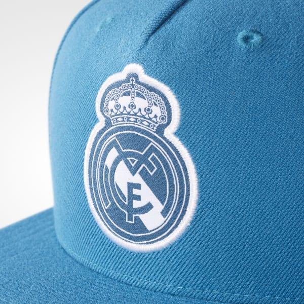 Gorra Real Madrid Ala Plana - Verde adidas  a191912abcfdc