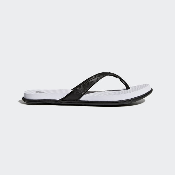 sports shoes ed034 fdce1 Cloudfoam One Thong Sandals Black CG2806