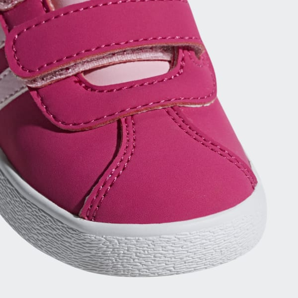 fb8178fee2 Tênis VL Court 2.0 - Rosa adidas