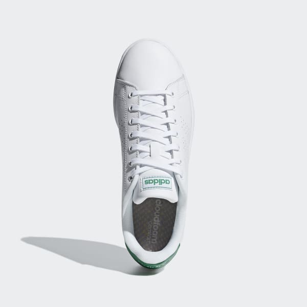 adidas advantage clean bianche