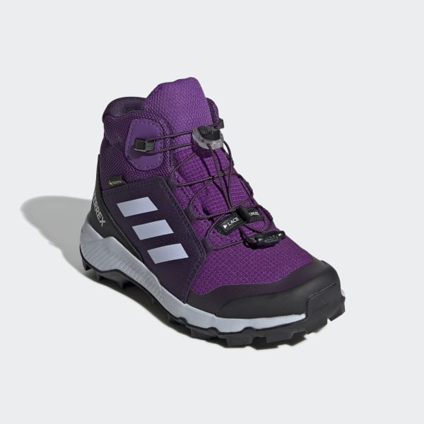adidas Terrex Mid GTX Hiking Shoes Kids active purple aero