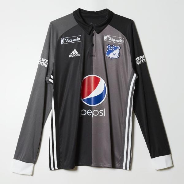 Mirar atrás vacío Folleto  adidas Camiseta de Visitante Millonarios FC Replica - Negro | adidas  Colombia