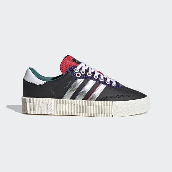 adidas SAMBAROSE Shoes - Black   adidas UK