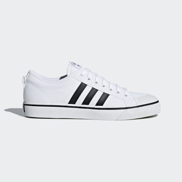 adidas Nizza Shoes - White | adidas US | Tuggl