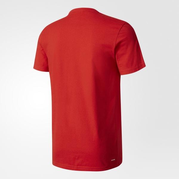 Camiseta Viagem CR Flamengo - Vermelho adidas  f358f23f0d94c