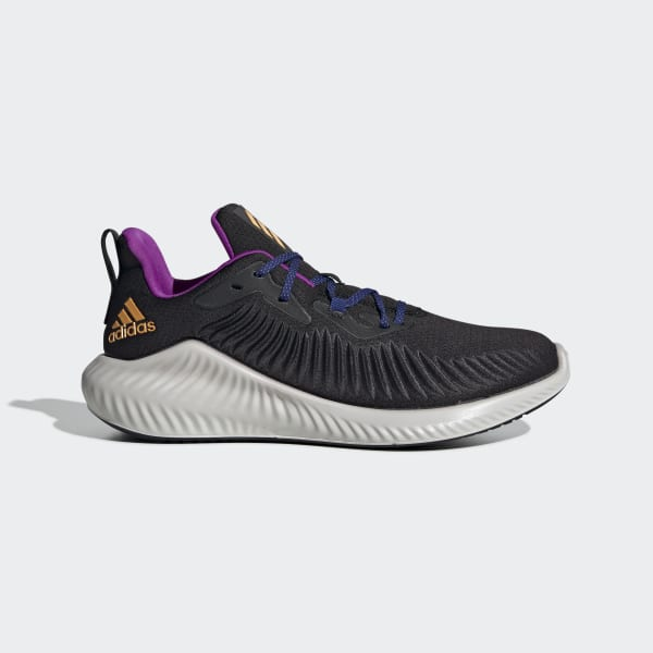 adidas alphabounce black and gold