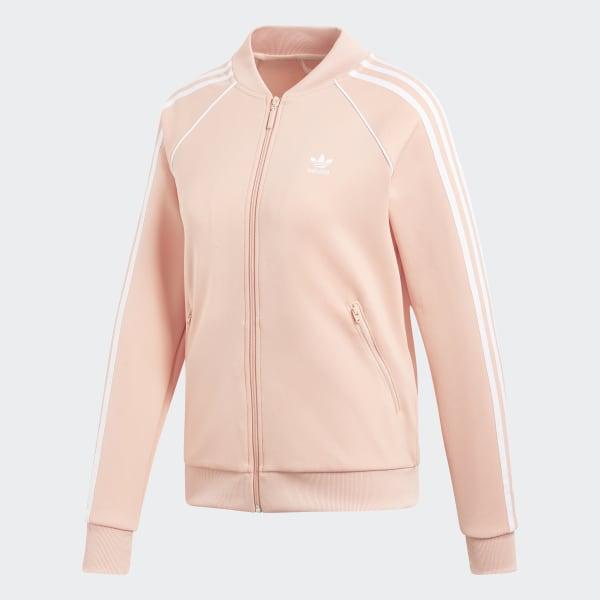 ADIDAS ORIGINALS SST Track Top Trainingsjacke Damen Rosa