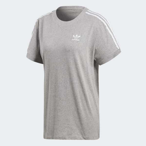 7fb1ed207 Camiseta 3-Stripes - Cinza adidas | adidas Brasil