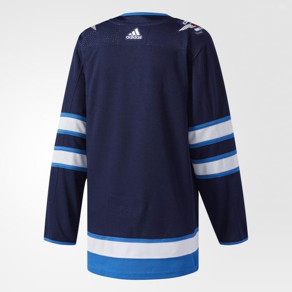 997bdb1aeec adidas Jets Home Authentic Pro Jersey - Blue   adidas Canada